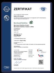 BR-IFS-Zertifikat-DE